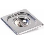 Крышка Luxstahl из нержавеющей стали для GN 1/6 — фото 1