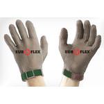 Перчатки кольчужные с полиэстер. ремешком зел. Euroflex Comfort 9590-1 — фото 1