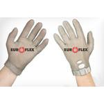 Перчатки кольчужные с метал. ремешком белые Euroflex Comfort 9590-2m