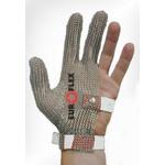 Перчатки кольчужные на 3 пальца бел. Euroflex Comfort 9590-32
