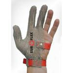 Перчатки кольчужные на 3 пальца крас. Euroflex Comfort 9590-33 — фото 1