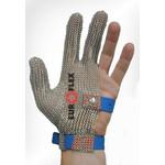 Перчатки кольчужные на 3 пальца син. Euroflex Comfort 9590-34