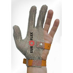 Перчатки кольчужные на 3 пальца оранж. Euroflex Comfort 9590-35