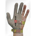Перчатки кольчужные на 3 пальца оливк. Euroflex Comfort 9590-36