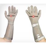 Перчатки кольчужные с метал. ремешком красные Euroflex Comfort 9590-3m-15 — фото 1