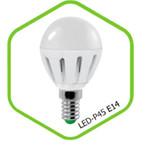 Лампа светодиодная LED-ШАР-standard 3.5Вт 160-260В Е14 3000К 300Лм ASD — фото 1