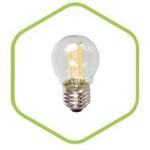 Лампа светодиодная LED-ШАР-PREMIUM 5.0Вт 160-260В Е27 4000К 450Лм прозрачная ASD — фото 1