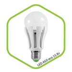 Лампа светодиодная LED-A60-standard 15Вт 160-260В Е27 4000К 1200Лм ASD — фото 1