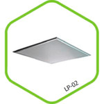 Панель светодиодная LP-03 22Вт 220В 4000К 1800Лм 295х595х11мм ASD — фото 1