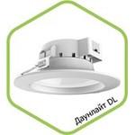 Даунлайт светодиодный DL-2061 20Вт 160-260В 6500К 1600Лм 180/155мм белый SMD ASD — фото 1