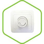 2111-W Диммер СП 600Вт CLASSICO белый ASD (2103) — фото 1