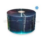 Рулон ПВХ голубая 200х2, 50 м, прозрачная морозостойкая