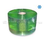 Рулон ПВХ зеленая 200х2, 50 м, прозрачная морозостойкая