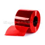 Рулон ПВХ красная 300х3, 50 м,  полупрозрачная с UFфильтром