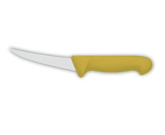 Нож обвалочный 2515 13 см, жёсткий желтый — фото 1
